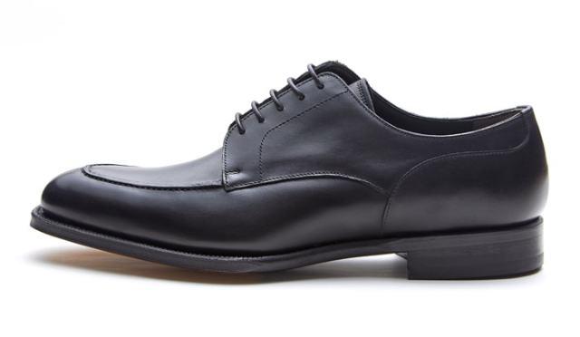 NEWYORKER FOOTWEAR ニューヨーカー フットウェア グッドイヤー・ウェルテッド NY022 BLACK 黒 ブラック Uチップ 外羽根 ドレスシューズ レザーソール メンズ 紳士靴 ビジネスシューズ 本革 革靴 靴 【送料無料】