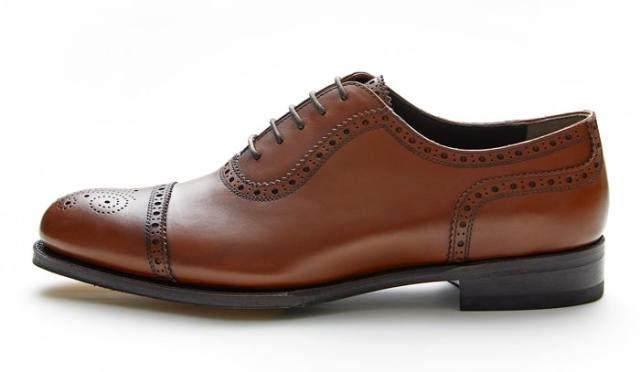 NEWYORKER FOOTWEAR ニューヨーカー フットウェア グッドイヤー・ウェルテッド NY025 BROWN 茶色 ブラウン ストレートチップ 内羽根 メダリオン ドレスシューズ ストレートチップ レザーソール メンズ 紳士靴 ビジネスシューズ 本革 革靴 靴 【送料無料】