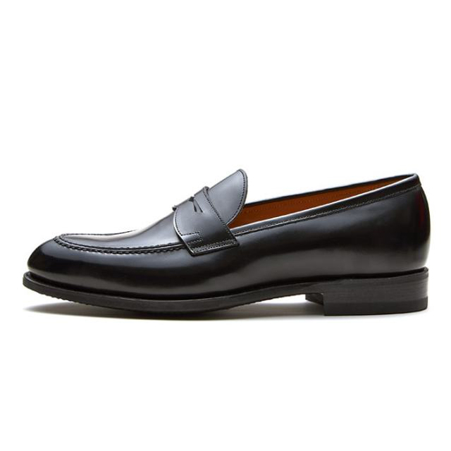 NEWYORKER FOOTWEAR ニューヨーカー フットウェア グッドイヤー・ウェルテッド NY315 BLACK 黒 ブラック ローファー レザーソール メンズ 紳士靴 カジュアルシューズ 本革 革靴 靴 【送料無料】
