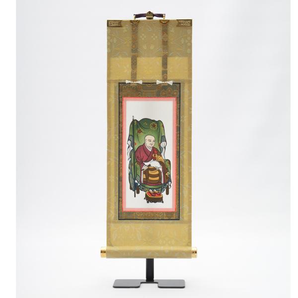 【掛け軸】曹洞 願 常済大師 30代【お仏壇のはせがわ】送料無料 曹洞宗 掛軸 仏壇用品 お仏具 脇掛 脇軸 脇侍