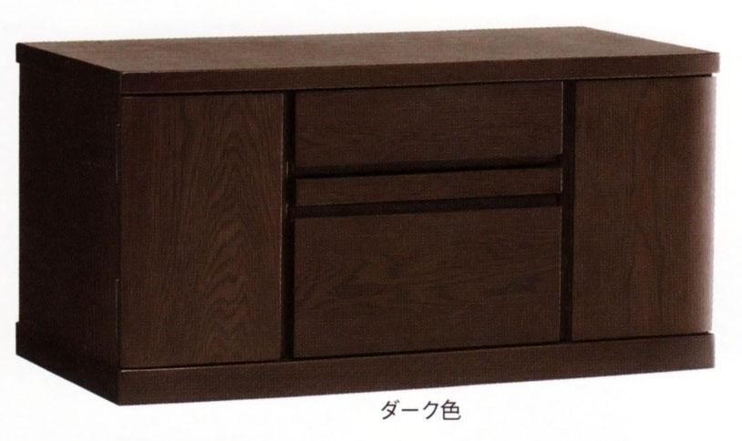 仏具・仏壇台(キャビネット) ボリード90 ダーク色/ライト色乗せるお仏壇のサイズを選ばない