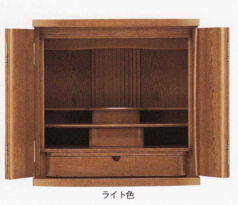 仏壇 上置き型 幅広のボディーが特徴 ドルチェ 20号 ダーク色/ライト色