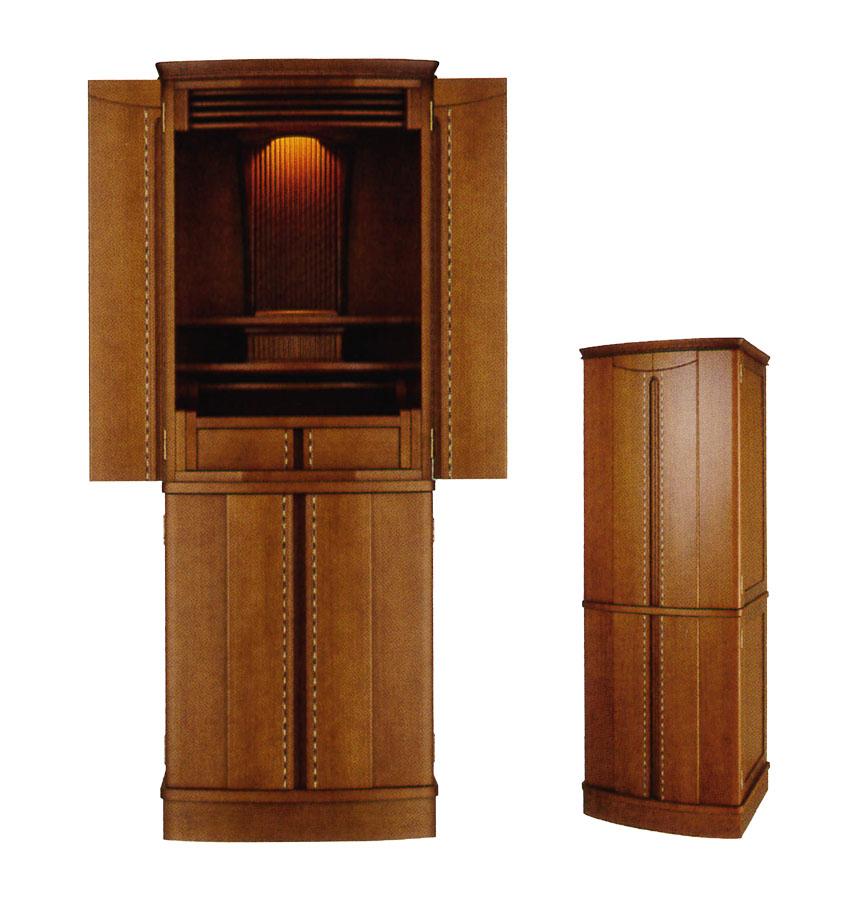 モダン仏壇 床置き型 フォボス新しい家具調タイプのお仏壇 【送料無料】