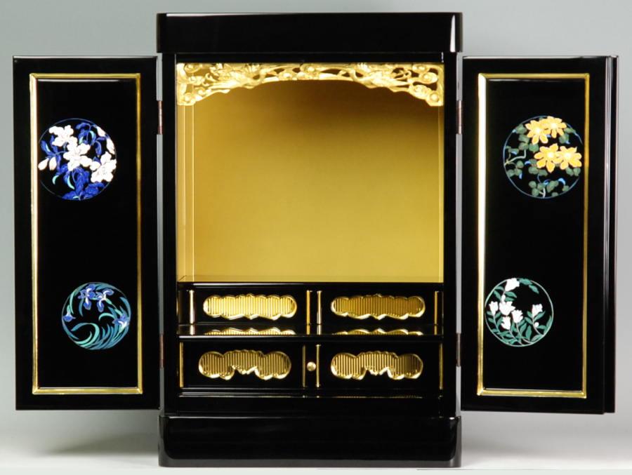 上置き小型仏壇 ミニ仏壇 太陽17号 11×17 絵柄12 送料無料 音楽会 売れ筋商品 SBおゆうぎ会