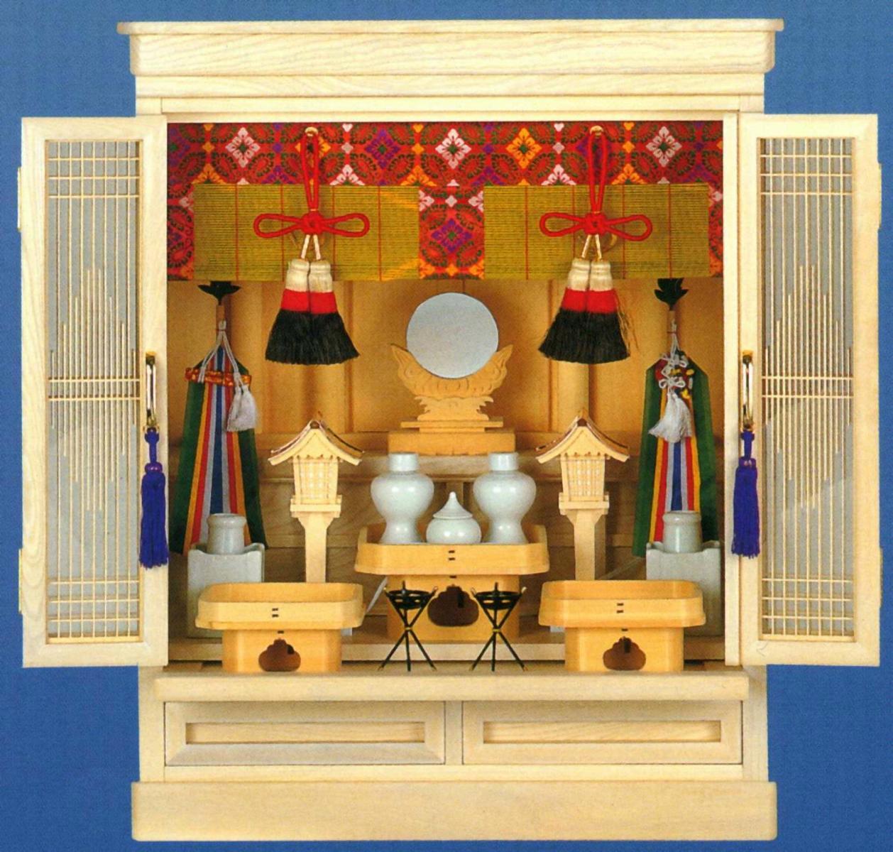 特選 祭壇宮 70%OFFアウトレット 白雲 無料サンプルOK 祖霊舎 神具 御霊舎特選 送料無料