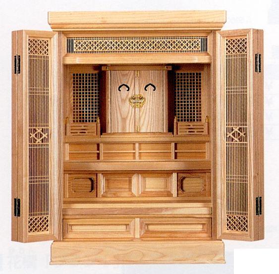 神具 祖霊舎・御霊舎小型御霊舎 特選 祭壇宮 「鎌倉」上置き型 【送料無料】
