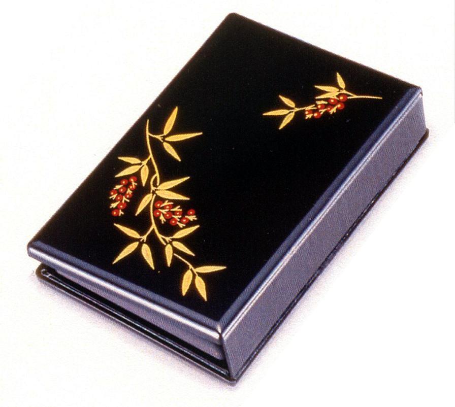 手元供養 遺骨の 供養 分家での 位牌 の代わりに 携帯仏壇 マインドアルテ南天 黒