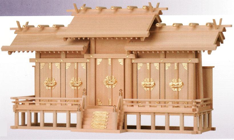 神棚 神棚 神明五社 【送料無料】