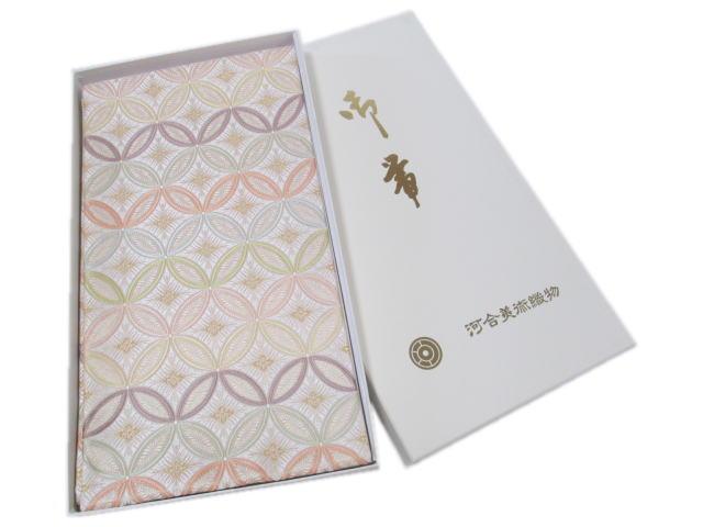 礼装用袋帯河合美術織物(七宝)