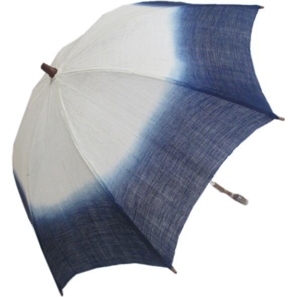 藍染日傘B