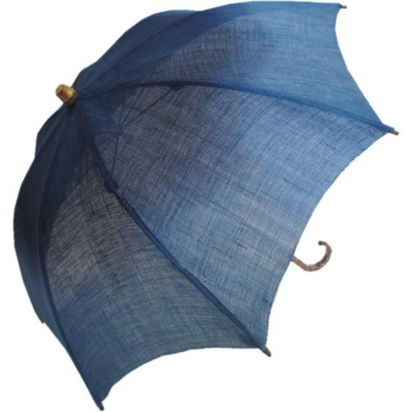 藍染日傘D