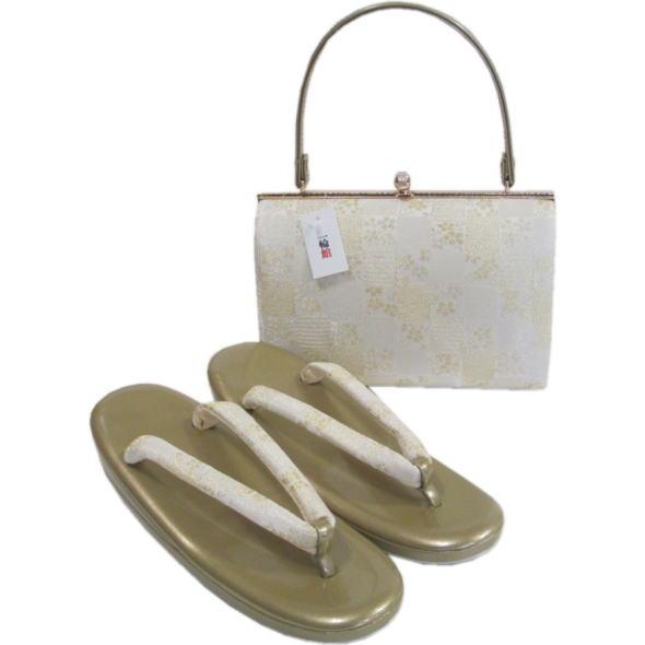 礼装用草履&バッグセット【043】