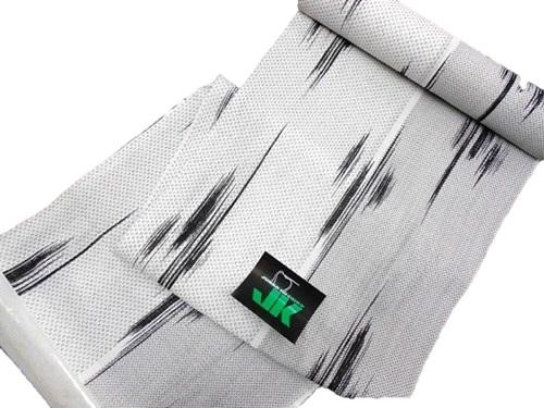 浴衣反物【白絣】【男物】【コシノ・ジュンコ】【日本製】【未仕立て】【在庫処分品】【送料無料】