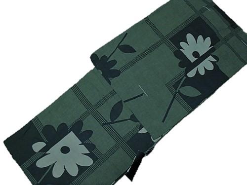 浴衣プレタ コシノ ジュンコ 仕立上がり 日本製 バーゲンセール ブラック グリーン 送料無料 特価品 正規販売店