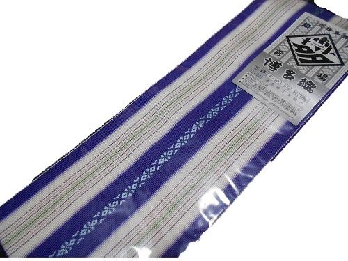 正絹伊達締め 本場筑前 博多織 5cm セール品 絹100% 日本製 紫 直営限定アウトレット 伊達〆