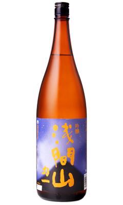 日本酒 浅間酒造 メーカー直送 群馬県 直送商品 浅間山 力一 吟醸酒 1800ml