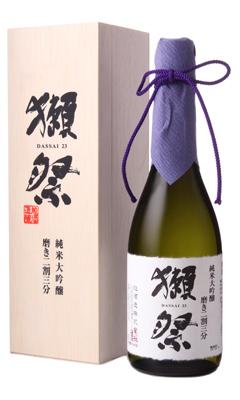 日本酒 旭酒造 山口県 中古 獺祭 720ml 評判 木箱付 磨き二割三分 純米大吟醸