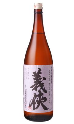 義侠 純米吟醸 30% 原酒 1800ml 日本酒 山忠本家酒造 愛知県