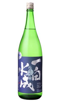 日本酒 福禄寿酒造 秋田県 人気 一白水成 純米吟醸 美山錦 1800ml デポー