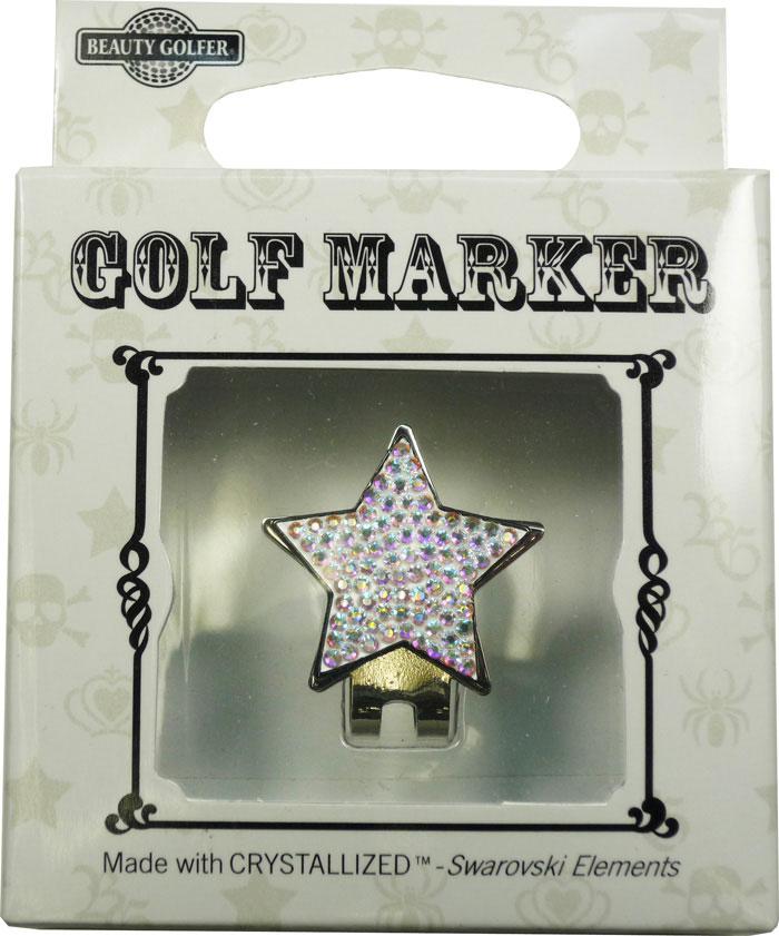 普通郵便で送料無料 スワロフスキー付ゴルフマーカー BG-4 Golf Swarovski Marker 着後レビューで 送料無料 登場大人気アイテム with