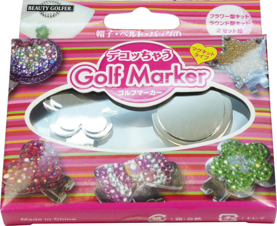 出色 人気 おすすめ 日本郵便便発送で送料無料 ゴルフマーカー デコッちゃう Marker DGM-4 Golf