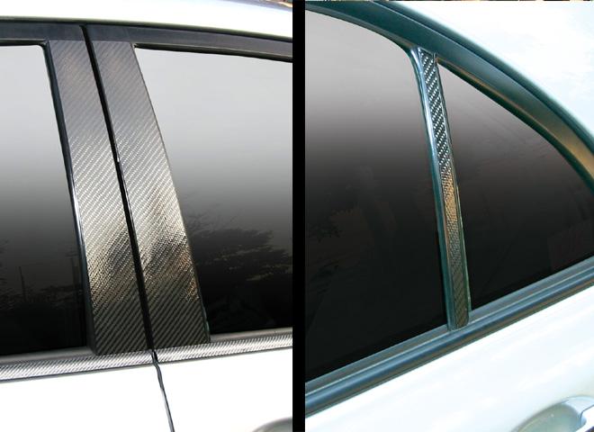 ハセプロ マジカルカーボン ピラーセット トヨタ カローラアクシオ NZE/ZRE140系 2006.10~2008.9(CPT-55)