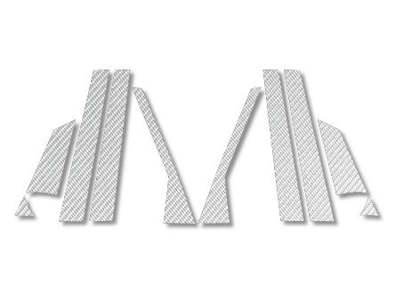 ハセプロ マジカルカーボン センターピラーセット グランディス NA4W シルバー