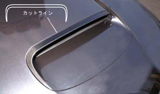 ハセプロ マジカルカーボンボンネットバルジインプレッサWRX-STiGVF 2011.01~
