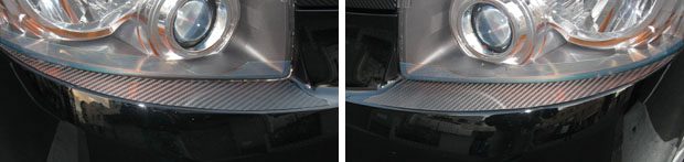 ハセプロ マジカルカーボンヘッドライトガーニッシュヴォクシー(Z・ZS・ZS煌I・煌IIのみ対応)ZRR70系 2007.06~2010.03