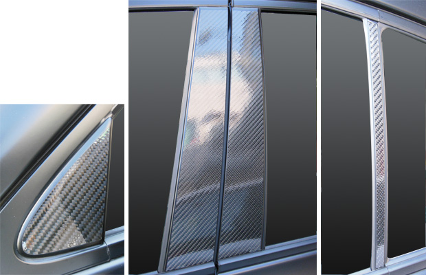 【6/5はポイント最大23倍!】ハセプロ マジカルカーボン ピラーセット レクサス GS GRL10系 2012.1~(CPL-8)