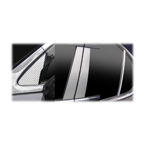 【6/5はポイント最大23倍!】ハセプロ マジカルカーボン ピラーセット バイザーカットタイプ レクサス LS460 USF40系 2006.9~(CPL-V1)
