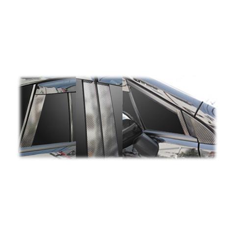 【6/5はポイント最大23倍!】ハセプロ マジカルカーボン ピラーセット バイザーカットタイプ スバル インプレッサスポーツ DBA-GP系 2011.12~(CPS-V19)