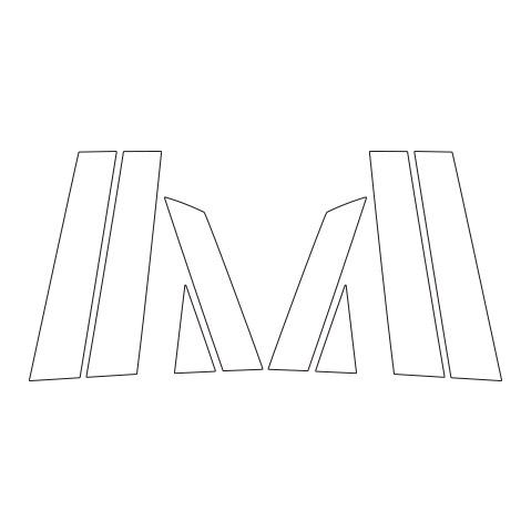 【6/5はポイント最大23倍!】ハセプロ《マジカルアートシートNEO》ピラー スタンダードセット ホンダ フィット GR1~8 2020.2~(MSN-PH72)