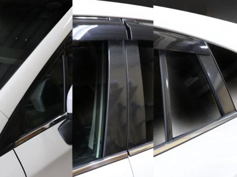 【6/5はポイント最大23倍!】ハセプロ マジカルカーボン ピラーセット バイザーカットタイプ スバル インプレッサスポーツ/XV GT系(CPS-V24)