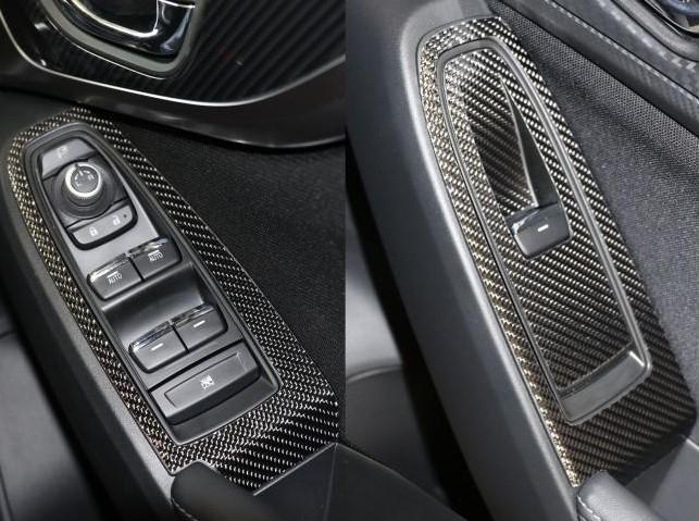 ハセプロ 《マジカルカーボン》ドアスイッチパネル インプレッサスポーツ/G4/XV GT系