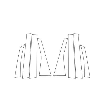 【6/5はポイント最大23倍!】ハセプロマジカルアートシートNEOピラーセット コルト 2002.11~