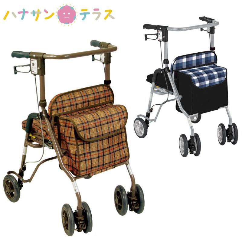 歩行車 歩行器 折りたたみ 軽量 シンフォニーSP 島製作所 高齢者用 介護 リハビリ 手押し車 シルバーカート シルバー 歩行補助