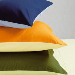 西川リビングから発売の1枚で2つの印象を楽しむことができるリバーシブルカバー 美しいカラーリング 計算された配色 ソフトな肌触り 西川リビング color×color ピローケース ファスナー式 ME00 上品 訳あり商品