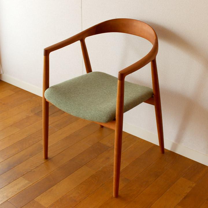 【送料無料】hataチェア デザイナーズチェア 一人掛け 椅子 吉原圭史デザイン(無垢家具)