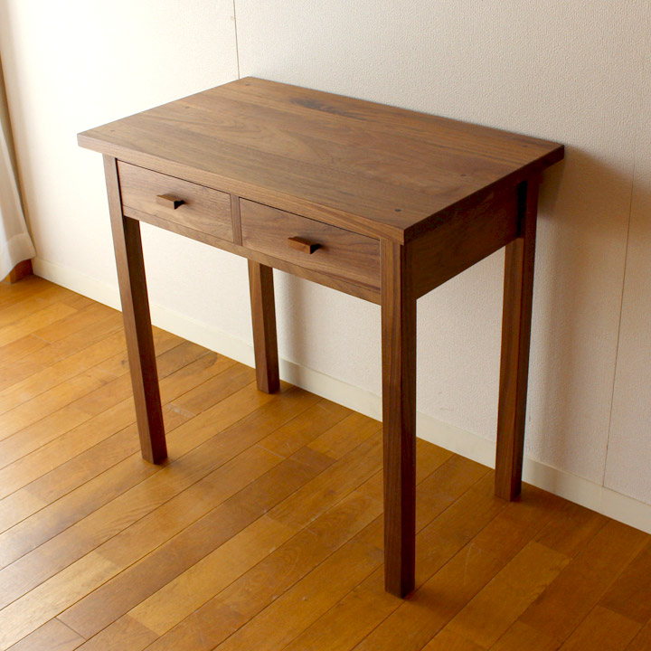 Walnut Pure Mini Desk Study Work Top Order Furniture Of The Build To Manufacturing