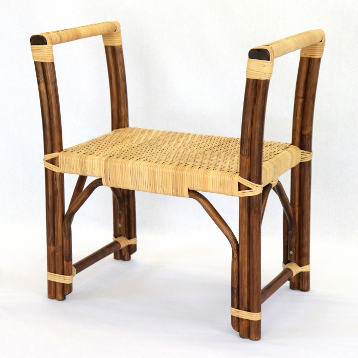 玄関ベンチ 玄関スツール 玄関椅子 スツール 多目的チェア ラタン 籐 背もたれ なし 立ち上がり プレゼント ギフト 椅子 イス ラタンチェア ベンチ