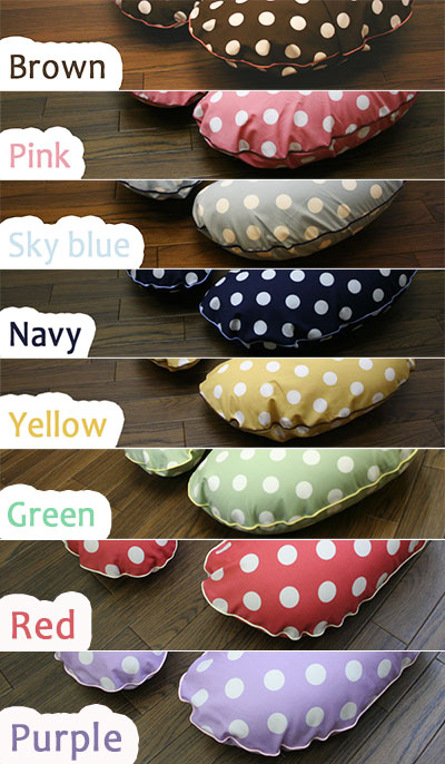 Nursing Pillow and Positioner-Polka Dots
