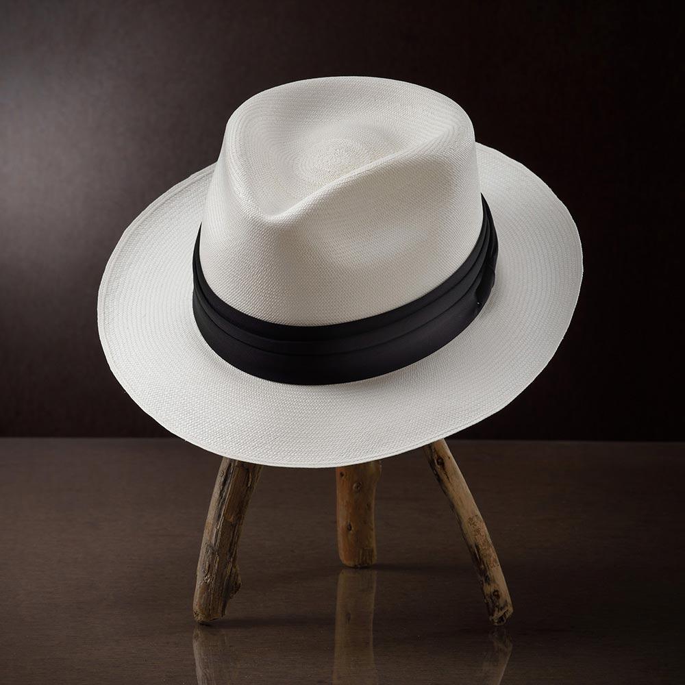 パナマ帽子 メンズ レディース ホワイトパナマハット 春夏 帽子 ハット 紳士帽 中折れハット フェドラ 大きいサイズ S M L XL エクアドル HomeroOrtega オメロオルテガ マウスリバー 送料無料 プレゼント ギフト あす楽