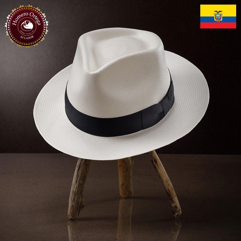 パナマハット 男性 女性 パナマ帽 本パナマ 中折れ帽 パナマ帽子 メンズハット 紳士帽 ハット 帽子 エクアドル 大きいサイズ プレゼント S M L XL ホワイト HomeroOrtega フィンガ 送料無料 あす楽