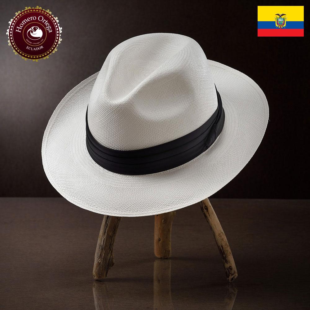 パナマハット 男性 女性 パナマ帽 麦わら帽子 中折れ帽 S M L XL ホワイト パナマ帽子 メンズハット 紳士帽 ハット 帽子 エクアドル 大きいサイズ あす楽 プレゼント Homero Ortega サー 送料無料