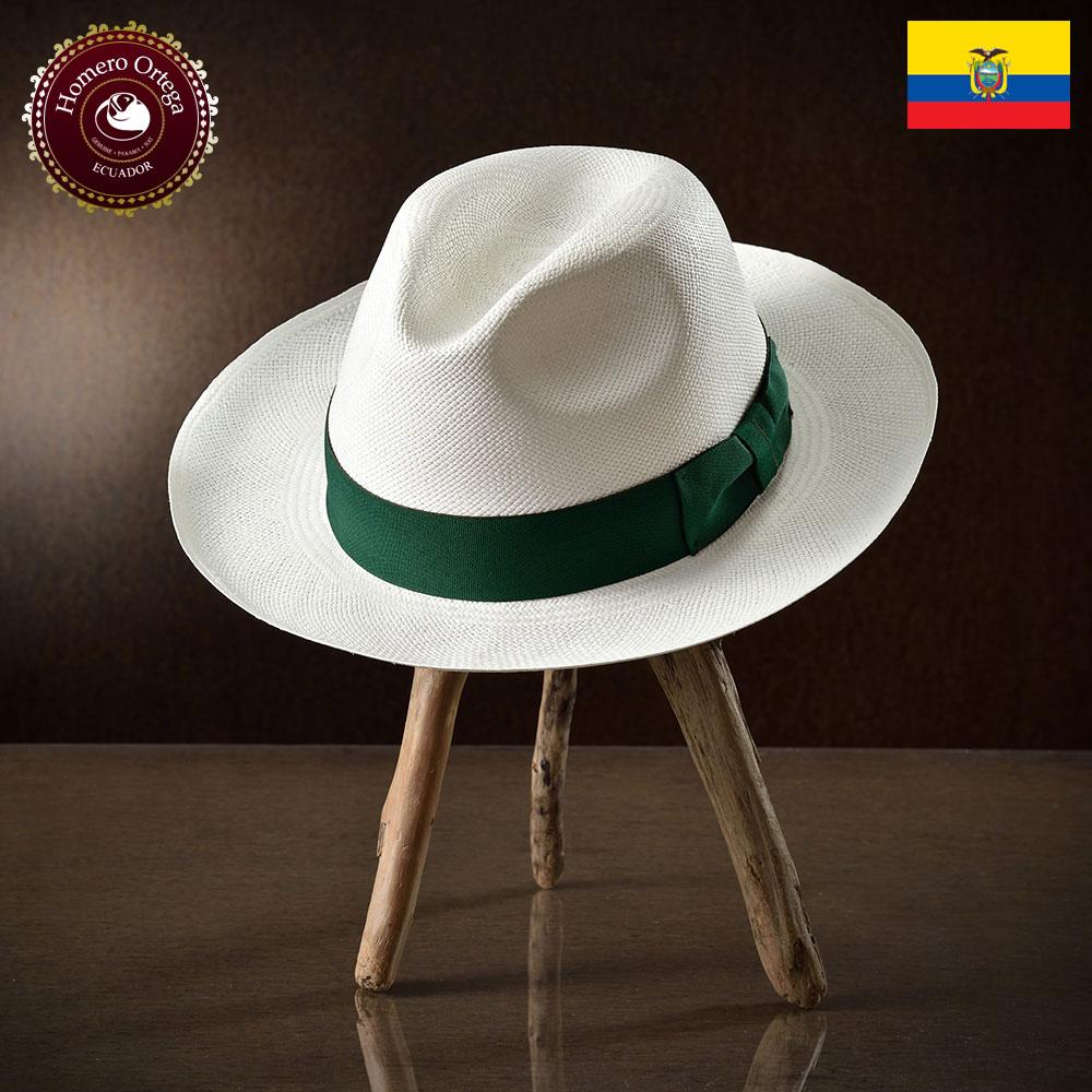 パナマ帽 メンズ レディース パナマハット 本パナマ 中折れハット S M L XL 白 パナマ帽子 紳士帽 メンズハット 帽子 ハット エクアドル 大きいサイズ あす楽 プレゼント オメロオルテガ ベルデ