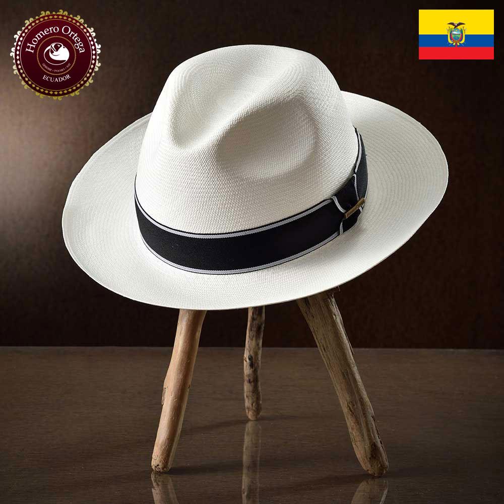 パナマハット メンズ レディース パナマ帽 本パナマ 中折れ帽子 ハット ホワイト パナマ帽子 メンズハット 紳士帽 エクアドル 大きいサイズ S M L XL あす楽 プレゼント HomeroOrtega オメロオルテガ ノーブレ 送料無料