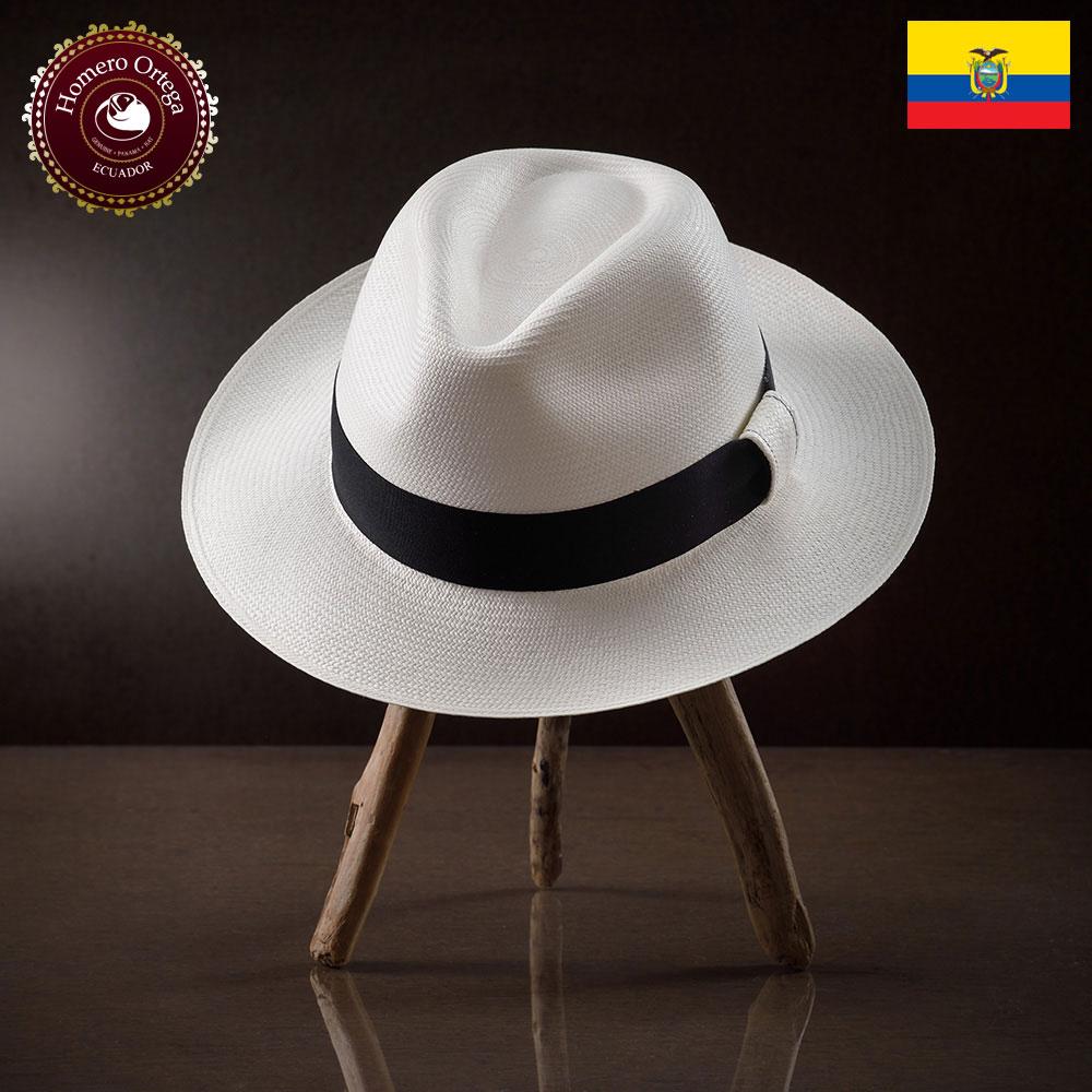 パナマハット 男性 女性 パナマ帽 本パナマ 中折れ帽 S M L XL 白 パナマ帽子 メンズハット 紳士帽 ハット 帽子 エクアドル 大きいサイズ あす楽 プレゼント Homero Ortega ポルトフィーノ 送料無料
