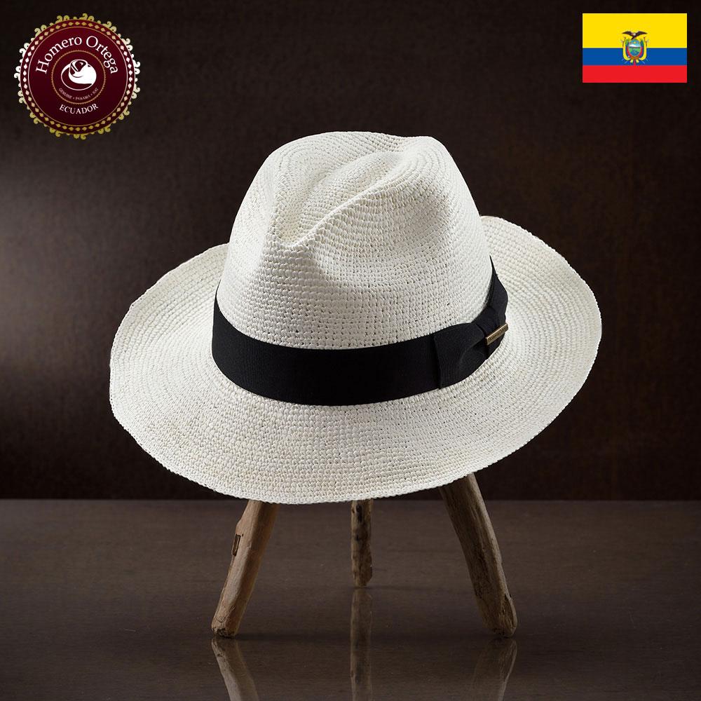 パナマハット 男性 女性 パナマ帽 麦わら帽子 中折れ帽 S M L XL ホワイト パナマ帽子 メンズハット 紳士帽 ハット 帽子 エクアドル 大きいサイズ あす楽 プレゼント Homero Ortega モンテカルロ 送料無料
