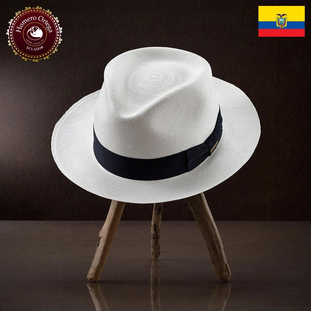 パナマ帽 メンズ レディース パナマハット 本パナマ 中折れハット S M L XL 白 パナマ帽子 紳士帽 メンズハット 帽子 ハット エクアドル 大きいサイズ あす楽 プレゼント オメロオルテガ ベンタナホワイト 送料無料